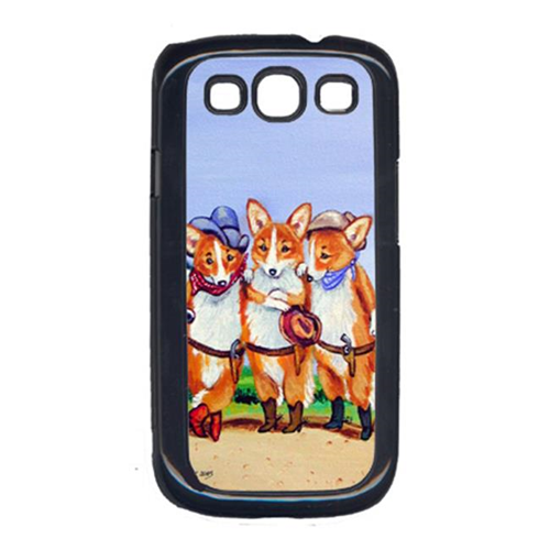 Carolines Treasures 7283GALAXYSIII Cowboy Corgi Galaxy S111 Cell Phone Cover