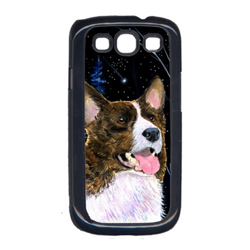 Carolines Treasures SS8387GALAXYSIII Starry Night Corgi Galaxy S111 Cell Phone Cover