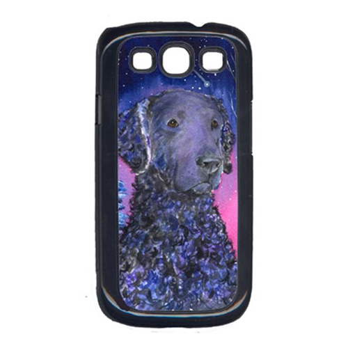 Carolines Treasures SS8354GALAXYSIII Starry Night Curly Coated Retriever Galaxy S111 Cell Phone Cover