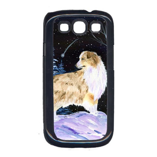 Carolines Treasures SS8359GALAXYSIII Starry Night Australian Shepherd Cell Phone Cover Galaxy S111