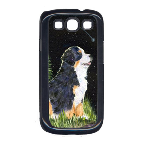 Carolines Treasures SS8468GALAXYSIII Starry Night Bernese Mountain Dog Cell Phone Cover Galaxy S111