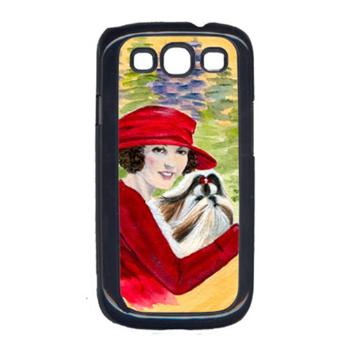 Carolines Treasures SS8539GALAXYSIII Lady Driving With Her Shih Tzu Cell Phone Cover Galaxy S111