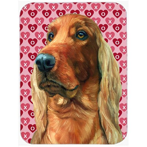 Carolines Treasures LH9562MP Irish Setter Hearts Love And Valentines Day Mouse Pad Hot Pad & Trivet