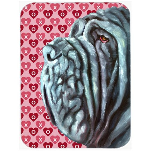 Carolines Treasures LH9561MP Neapolitan Mastiff Hearts Love And Valentines Day Mouse Pad Hot Pad & Trivet