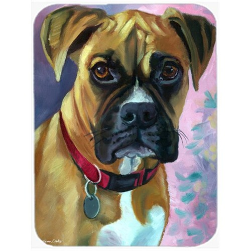 Carolines Treasures 7338MP Natural Fawn Boxer Mouse Pad Hot Pad & Trivet