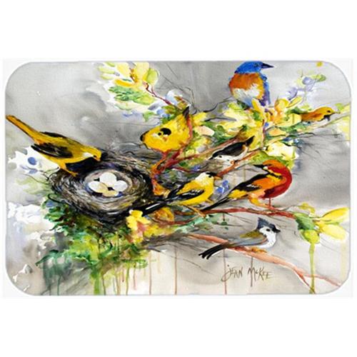 Carolines Treasures JMK1024MP Spring Birds Mouse Pad Hot Pad & Trivet