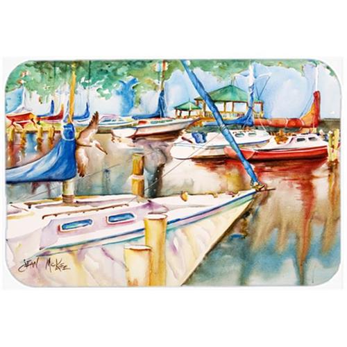 Carolines Treasures JMK1043MP Sailboats At The Gazebo Mouse Pad Hot Pad & Trivet