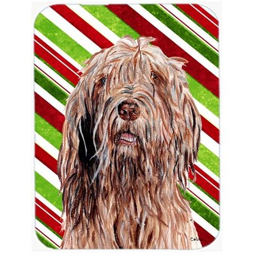 Carolines Treasures SC9805MP Otterhound Candy Cane Christmas Mouse Pad Hot Pad Or Trivet 7.75 x 9.25 In.