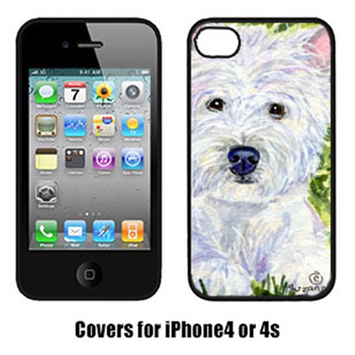 Carolines Treasures SS8835IP4 Westie Iphone 4 Cover