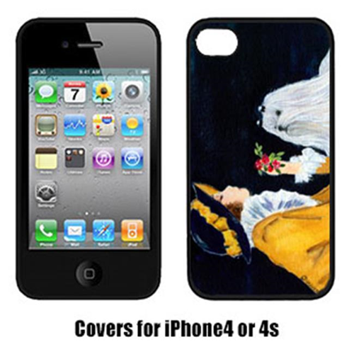 Carolines Treasures SS8537IP4 Lady With Her Maltese Iphone4 Cover