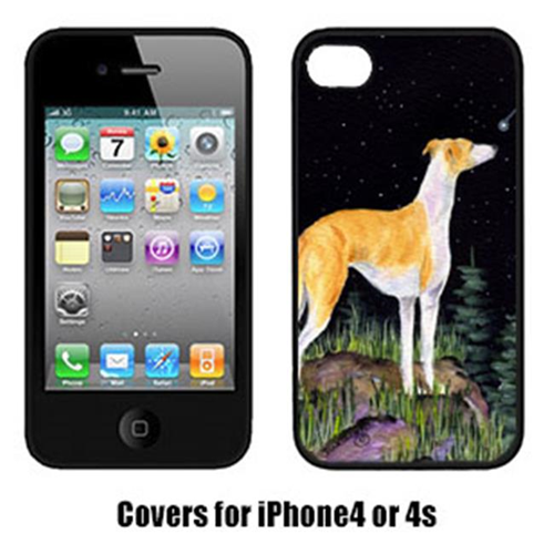 Carolines Treasures SS8492IP4 Starry Night Whippet Iphone4 Cover