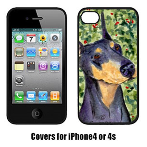 Carolines Treasures SS8812IP4 Doberman Iphone4 Cover