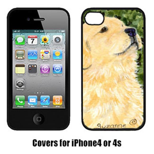 Carolines Treasures SS8810IP4 Golden Retriever Iphone4 Cover