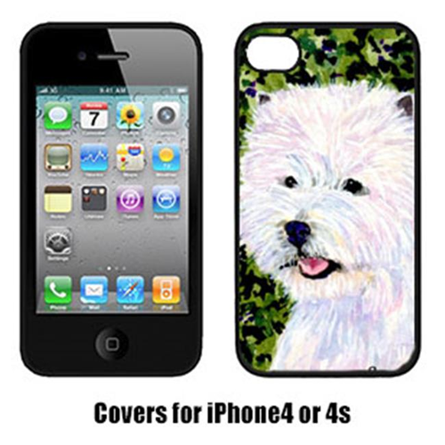 Carolines Treasures SS8818IP4 Westie Iphone 4 Cover