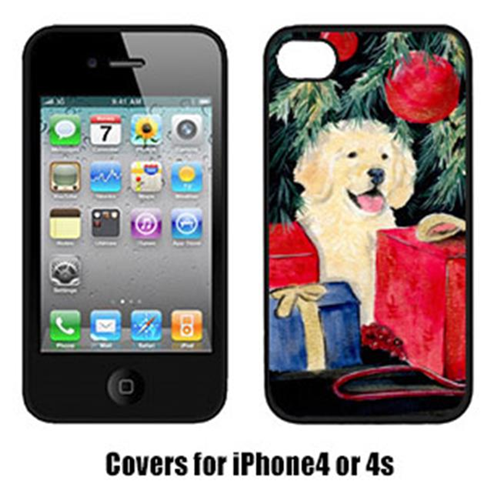 Carolines Treasures SS8578IP4 Golden Retriever Iphone4 Cover