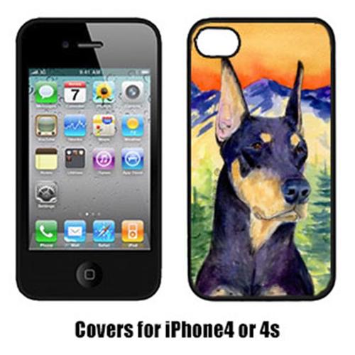 Carolines Treasures SS8658IP4 Doberman Iphone4 Cover