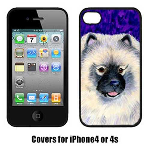 Carolines Treasures SS8691IP4 Keeshond Iphone4 Cover