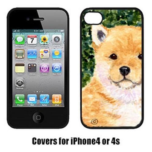Carolines Treasures SS8726IP4 Shiba Inu Iphone4 Cover