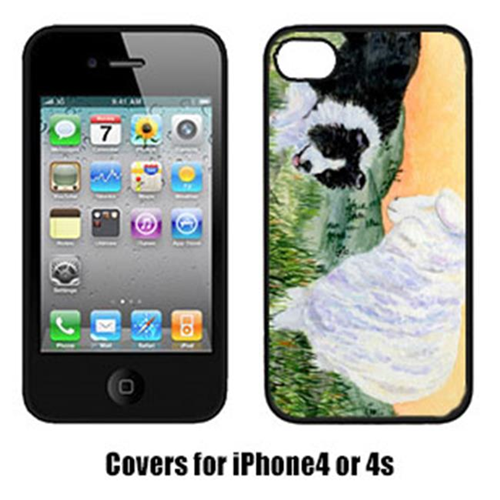 Carolines Treasures SS8103IP4 Border Collie Iphone 4 Cover