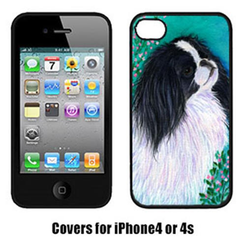 Carolines Treasures SS8134IP4 Japanese Chin Iphone 4 Cover