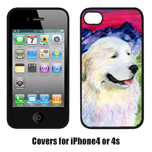 Carolines Treasures SS8473IP4 Great Pyrenees Cell Phone Cover Iphone 4