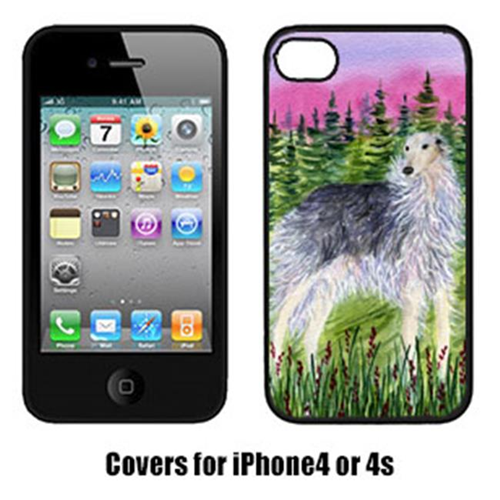 Carolines Treasures SS8227IP4 Borzoi Cell Phone cover IPhone 4