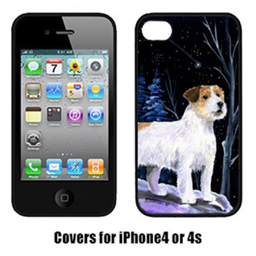 Carolines Treasures SS8388IP4 Starry Night Jack Russell Terrier Cell Phone cover IPhone 4