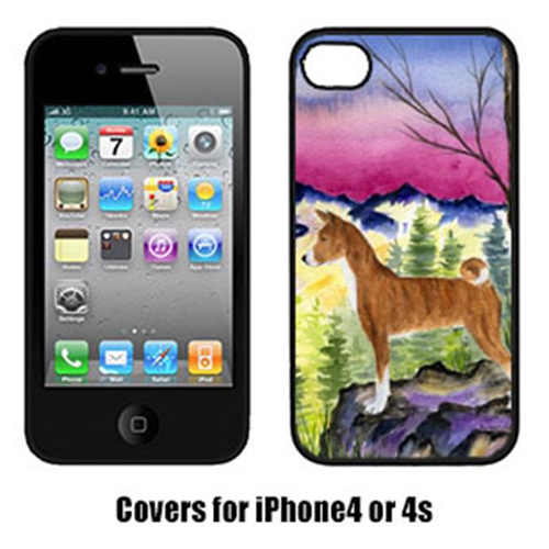 Carolines Treasures SS8371IP4 Basenji Cell Phone cover IPhone 4