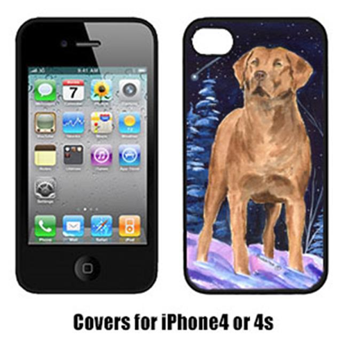 Carolines Treasures SS8355IP4 Starry Night Chesapeake Bay Retriever Cell Phone cover IPhone 4