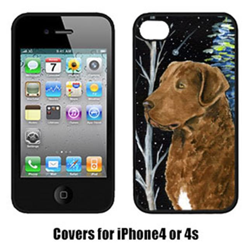 Carolines Treasures SS8411IP4 Starry Night Chesapeake Bay Retriever Cell Phone Cover Iphone4