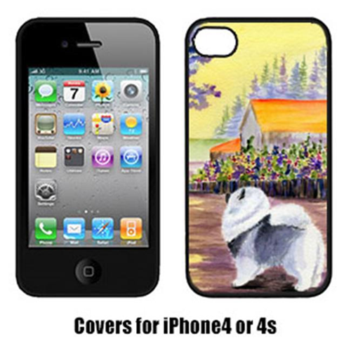 Carolines Treasures SS8452IP4 Keeshond Cell Phone Cover Iphone 4