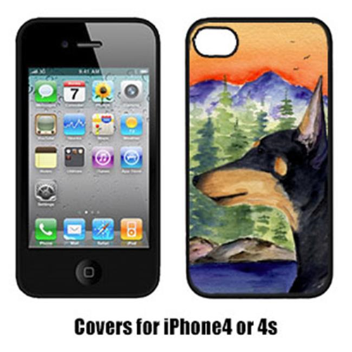 Carolines Treasures SS8433IP4 Manchester Terrier Cell Phone Cover Iphone 4