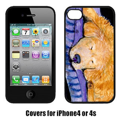 Carolines Treasures SS8909IP4 Golden Retriever Iphone 4 Cover