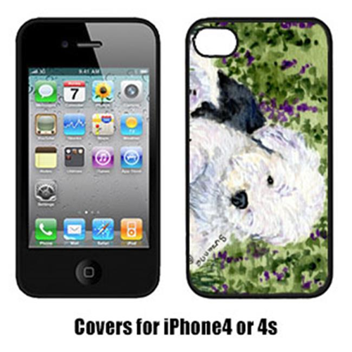 Carolines Treasures SS8840IP4 Old English Sheepdog Iphone 4 Cover