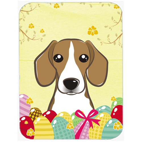 Carolines Treasures BB1921MP Beagle Easter Egg Hunt Mouse Pad Hot Pad or Trivet