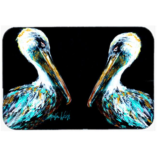 Carolines Treasures MW1164MP Dressed in Black Pelican Mouse Pad Hot Pad or Trivet