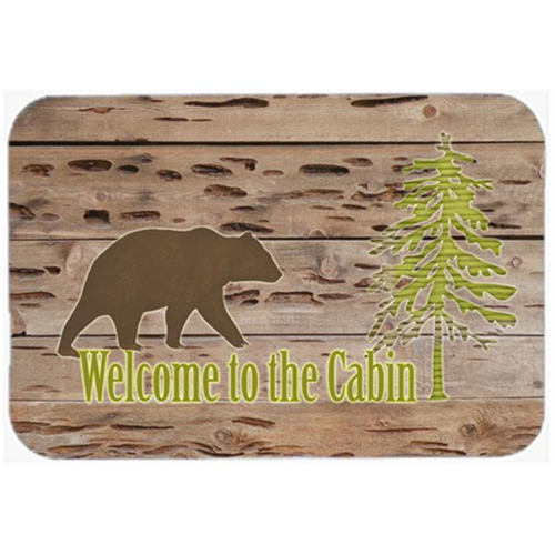 Carolines Treasures SB3081MP 7.75 x 9.25 In. Welcome To The Cabin Mouse Pad Hot Pad Or Trivet