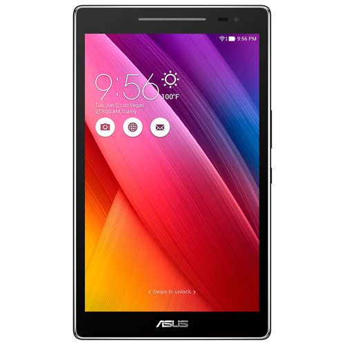 "ASUS ZenPad 8"" 16GB Android 6.0 Tablet With MediaTek MT8163 Quad-Core Processor - Grey"