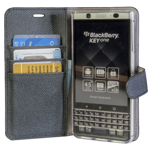 uk availability 8cbed fa009 Caseco Folio Case for Blackberry Keyone - Black