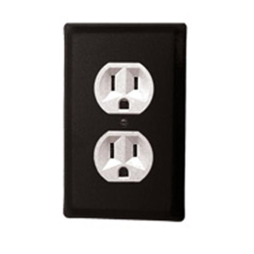Village Wrought Iron EO-87 Plain Outlet Cover