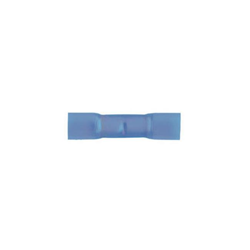 3M 94857 14-16 Gauge Heat Shrink Butt Connector Blue 25-Pack
