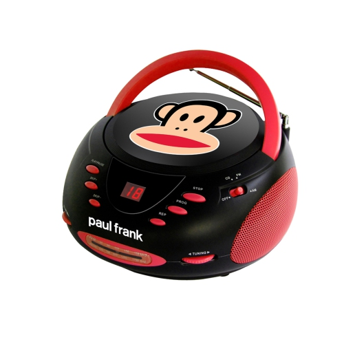Paul Frank Bedroom In A Box: Paul Frank Stereo CD Boombox With AM-FM Radio : CD Players