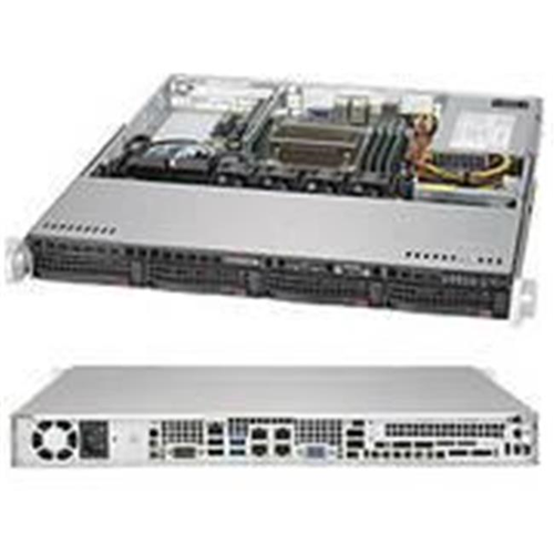 Supermicro SYS-5019S-MN4 Super Server LGA1151 350 watt 1U Rackmount Server Barebone System Black