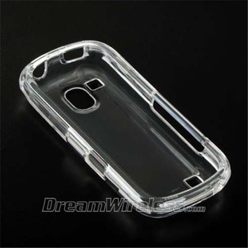 Dreamwireless Fitted Hard Shell Case for Samsung Continuum - Clear