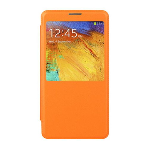 DreamWireless BCFSAMNOTE3ORSV Samsung Galaxy Note 3 Battery Cover Flip Orange
