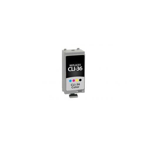 Remanufactured Color Ink Cartridge for Canon CLI-36 (DPCCLI36CA)