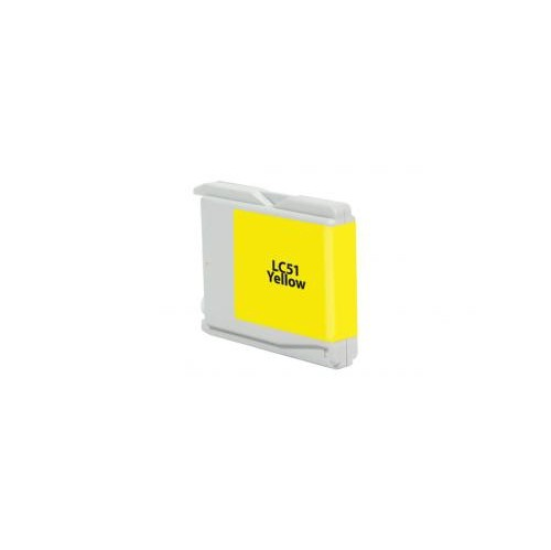 Remanufactured Yellow Ink Cartridge for Brother LC51 (DPCLC51YCA)