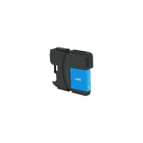 Remanufactured High Yield Cyan Ink Cartridge for Brother LC65 (DPCLC65CCA)