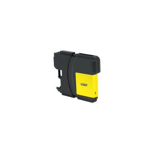 Remanufactured High Yield Yellow Ink Cartridge for Brother LC65 (DPCLC65YCA)