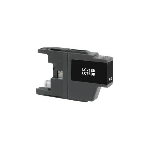 Remanufactured High Yield Black Ink Cartridge for Brother LC71/LC75 (DPCLC75BCA)